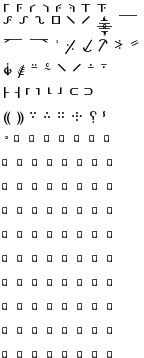 Editorial symbols
