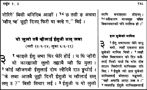 Challenges in publishing with non roman scripts diglot using the same script devanagari in two languages gurungnepali altavistaventures Image collections