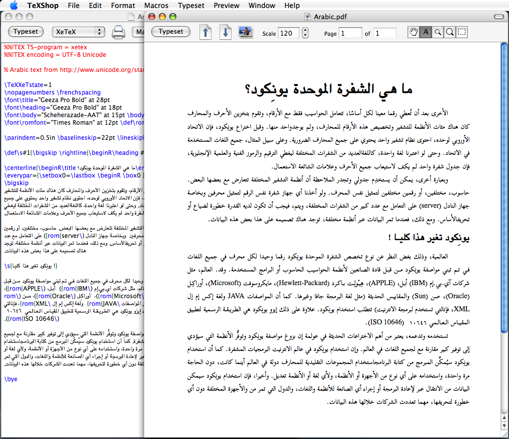 How to use true UTF-8 input for Latex documents (using OS X)